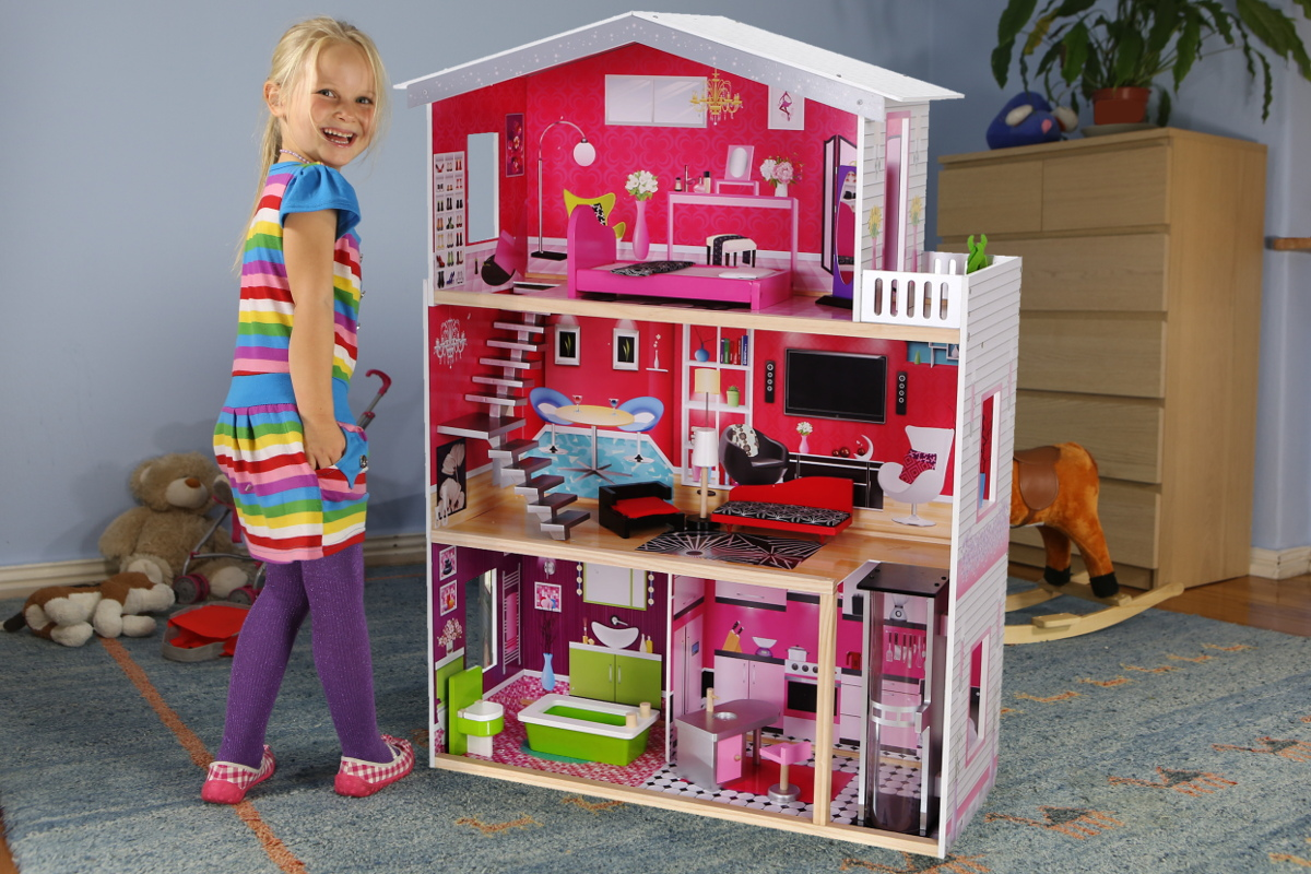 Домик для большой куклы сделать