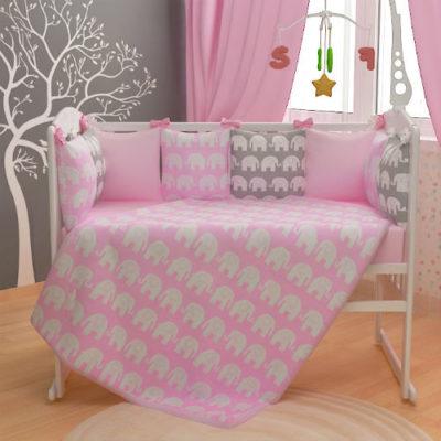Комплекты детского постельного белья в кроватку